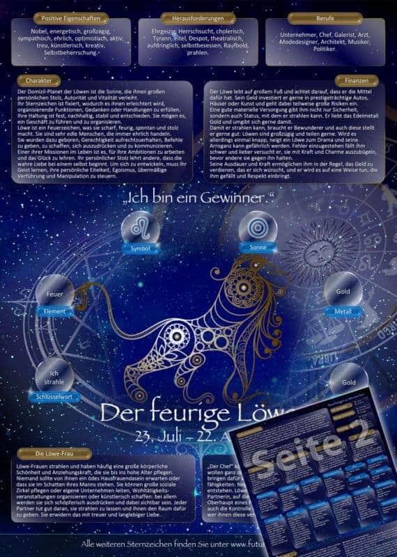 Sternzeichen Löwe Frau Gesundheit sternzeichen löwe – futurepacemedia
